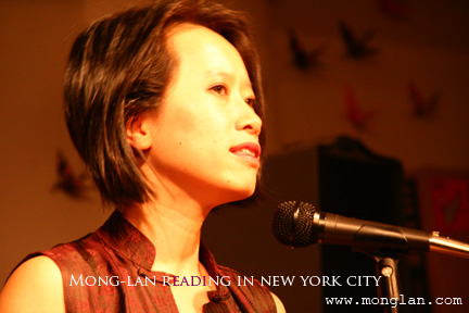 Mong-Lan reading in NYC