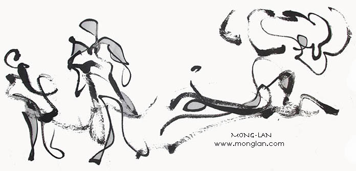 Mong-Lan: Artwork, Man & Beast